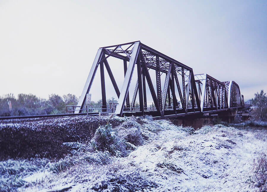 snow-photos-richmond-tx-bridge-2017