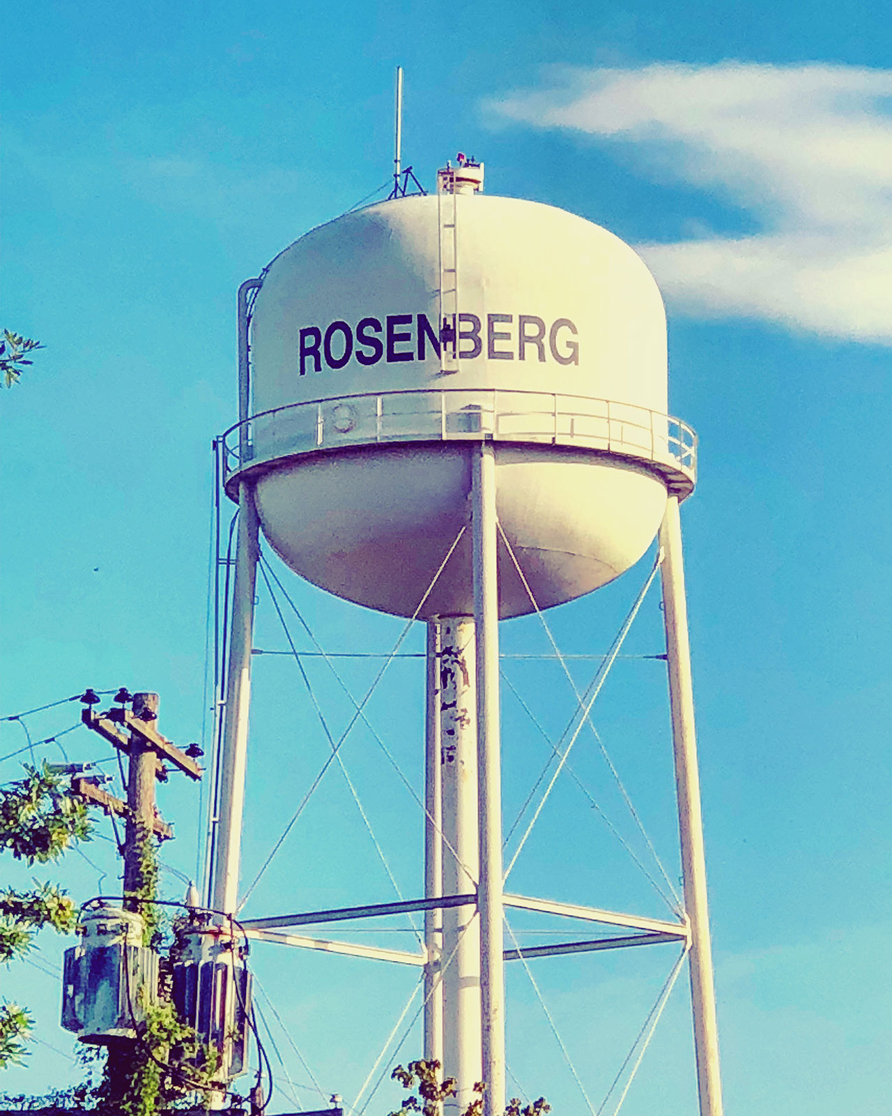 rosenberg-texas-water-tower
